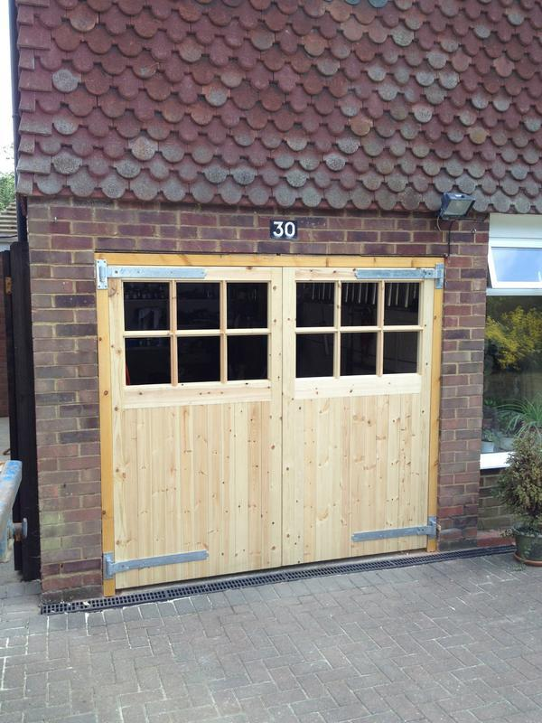 Image 49 -  Softwood Garage doors