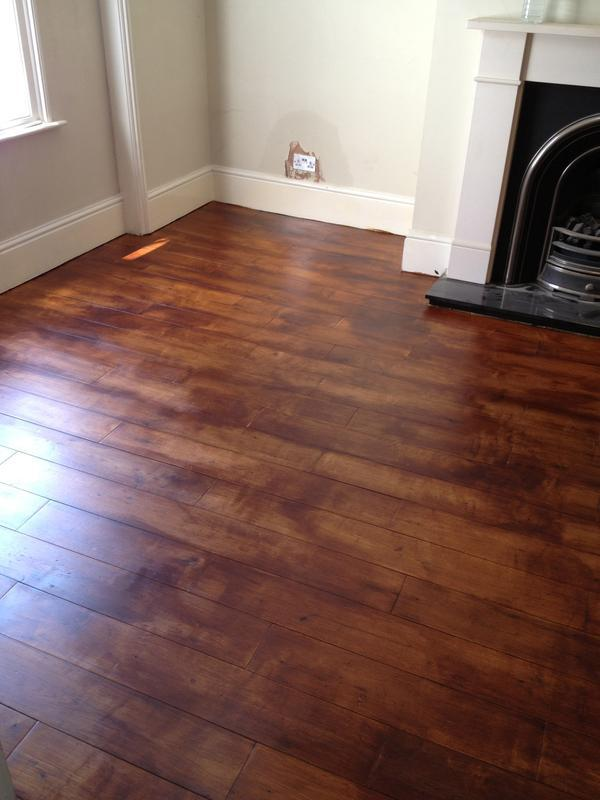 Image 33 - Dark oak floor