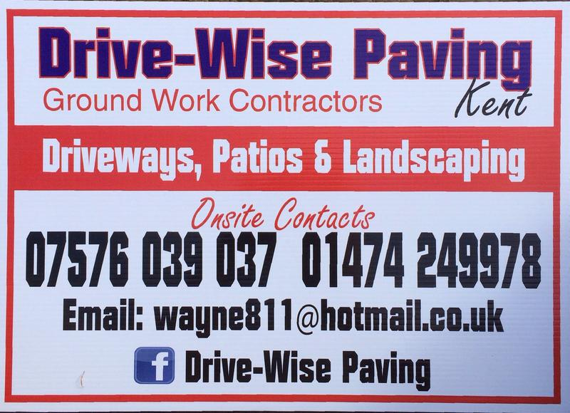Drive-Wise Paving Kent logo