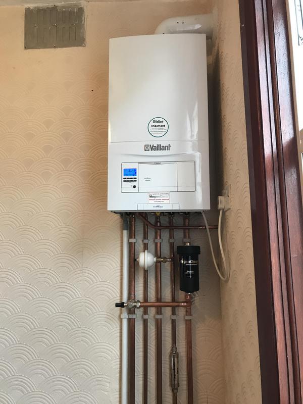 Image 17 - vaillant combi boiler install