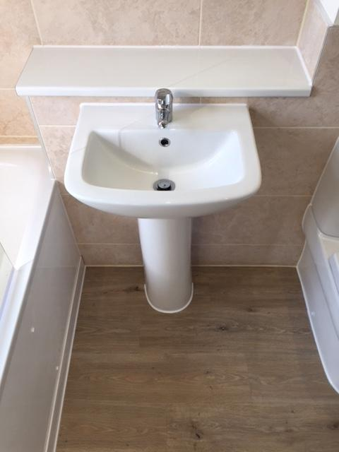 Image 7 - Simple replacement of suite, tiles and flooring for rental property