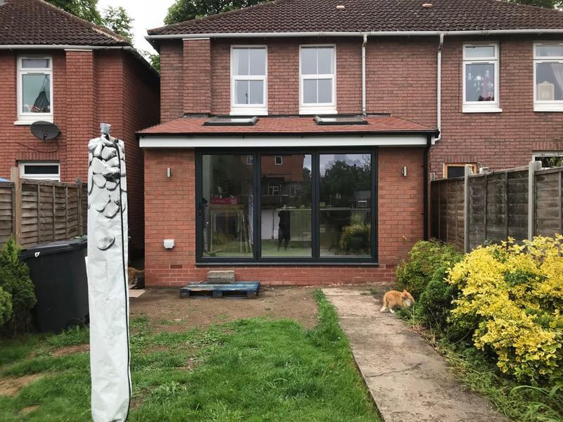 Image 12 - Single storey extension complete