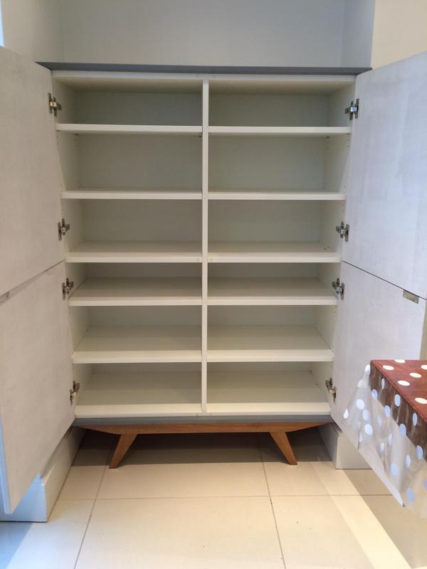 Image 29 - Bespoke storage cabinet.