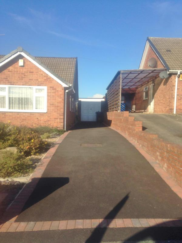 Image 41 - new Tarmac driveway Chesterfield