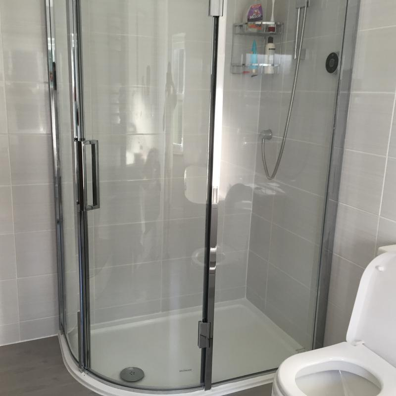Image 7 - Fitted shower enclosure