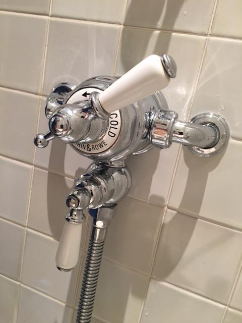 Image 15 - New Perrin & Rowe thermostatic shower installation in Earls Court.