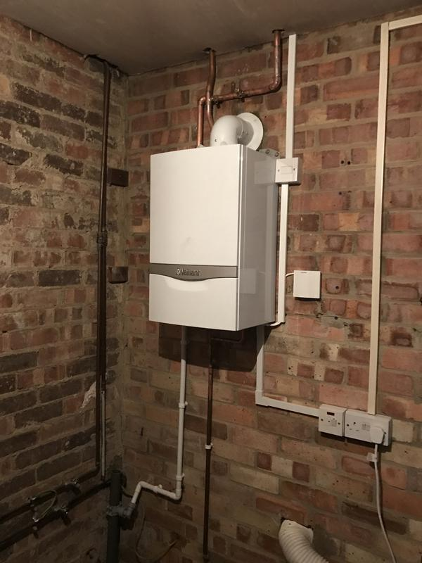 Image 11 - Vaillant 418 system boiler fitted in garage 5 year warranty