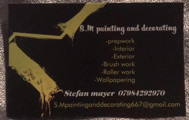 S.M. Painting and Decorating logo
