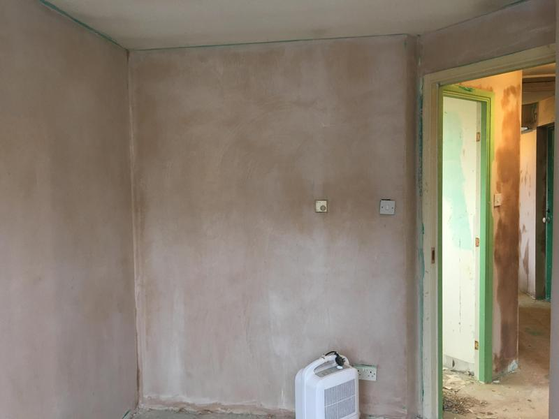 Image 58 - Before photo of a bedroom thats been plastered