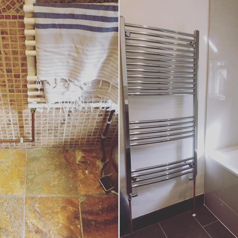 Image 15 - New towel rail and bathroom