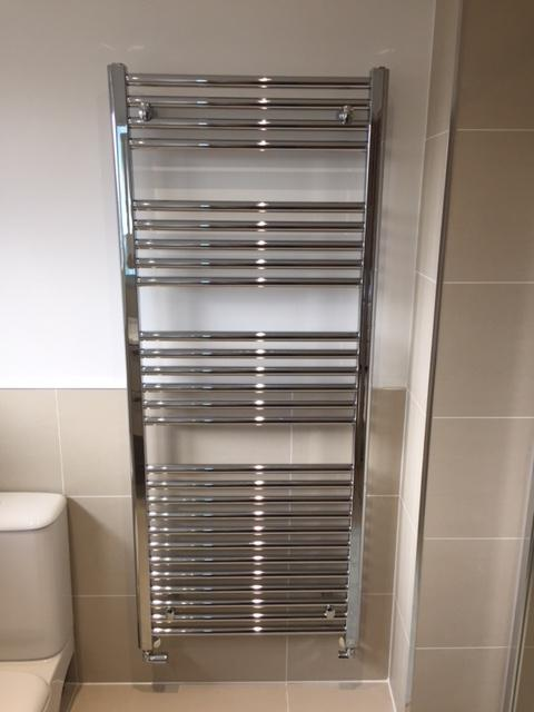 Image 36 - Installation of towel rails