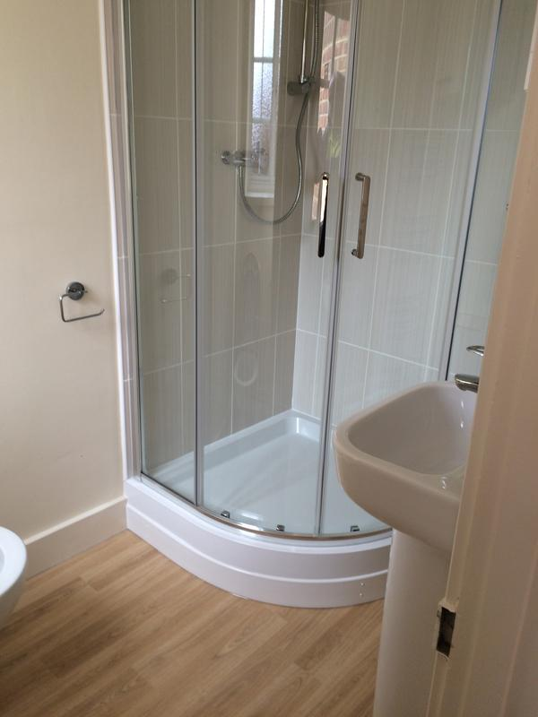 Image 3 - Shower installed for Commercial customer
