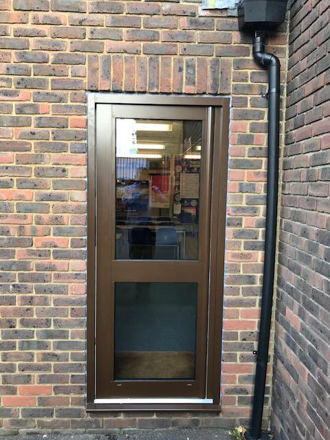 Image 15 - Aluminium entrance doors fitted to a School in Southend on Sea