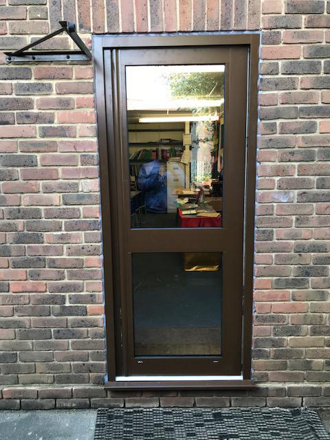 Image 18 - Commercial aluminium entrance doors fitted to a school in Southend on Sea