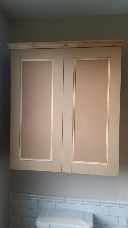 Image 33 - Custom built bathroom cupboard by Ollie Diggins