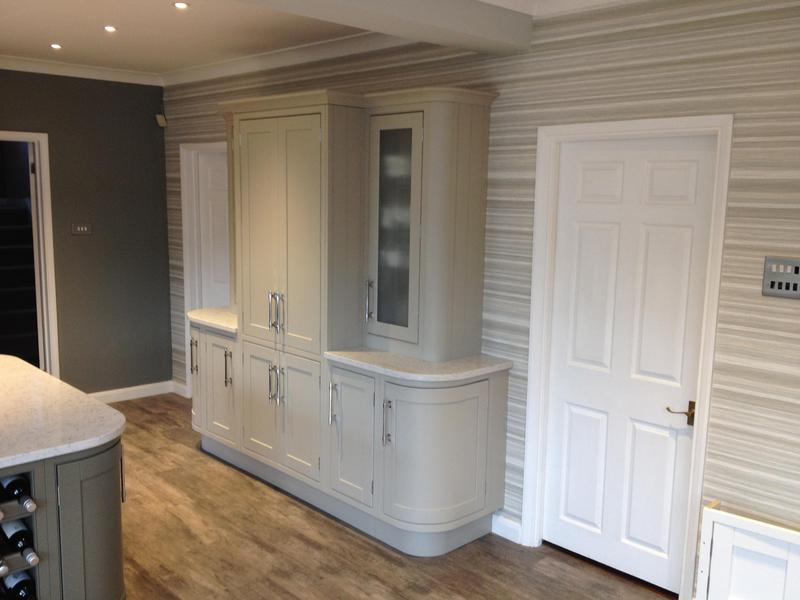 Image 129 - In-Frame kitchen installed with bespoke details.