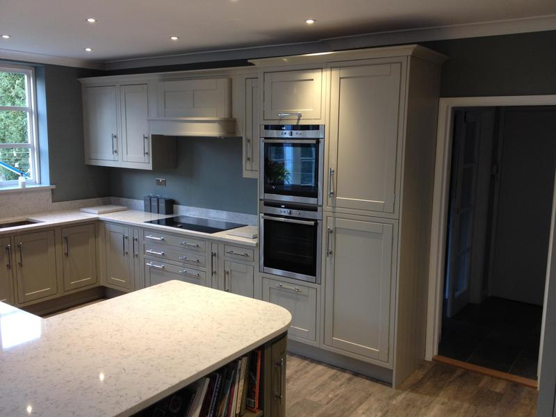 Image 131 - In-Frame kitchen installed with bespoke details.