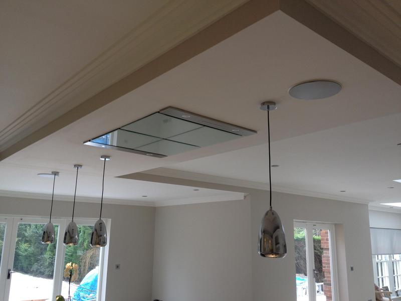 Image 57 - Extractor installed in ceiling and remotely controlled kept the open plan effect.