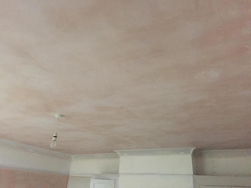 Image 40 - Ceiling plastered