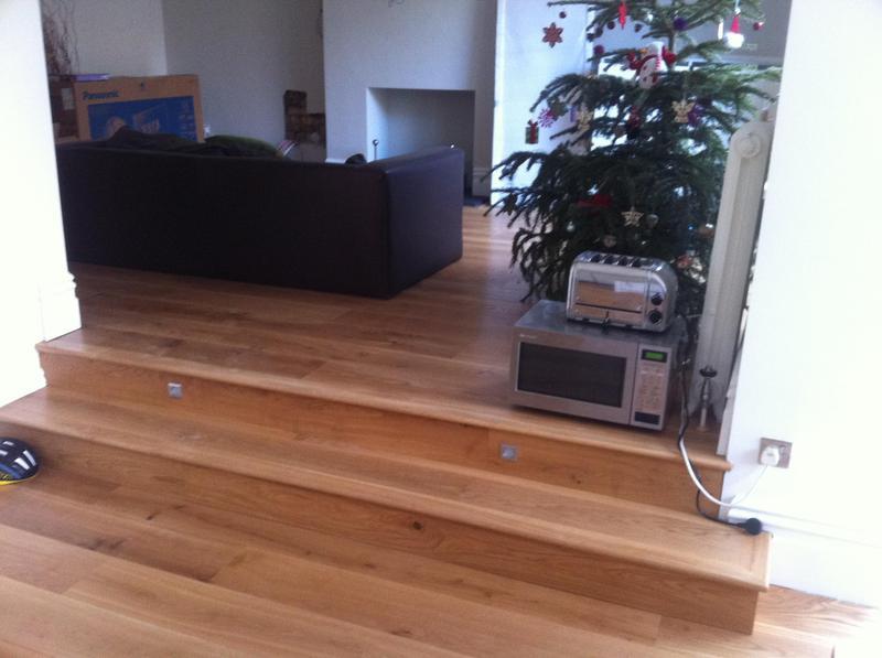 Image 41 - Oak Flooring and steps
