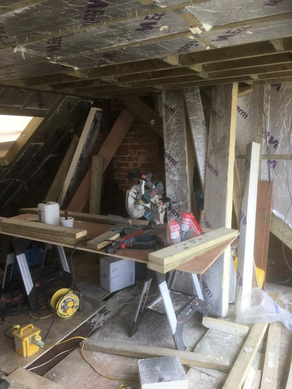 Image 21 - Loft conversion In progress in Hendon