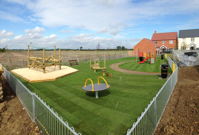 Image 2 - Park completed in cranfield