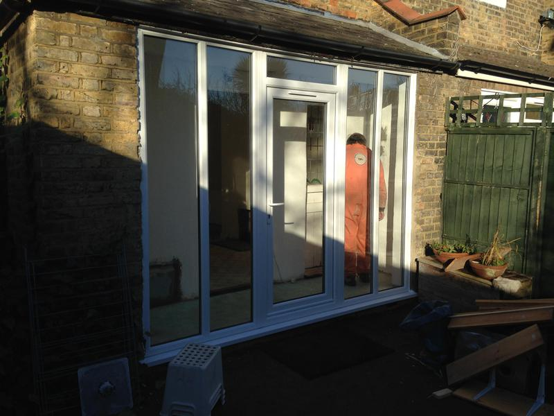 Image 36 - new white upvc double glazed elevation