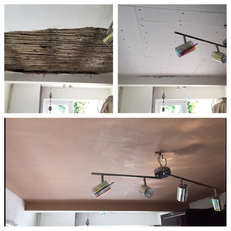 Image 4 - Ceiling repair (insurance work)