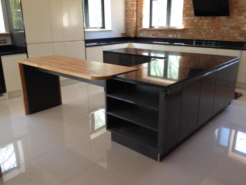 Image 31 - Bespoke gloss handleless kitchen and utility installed in massive barn conversion.