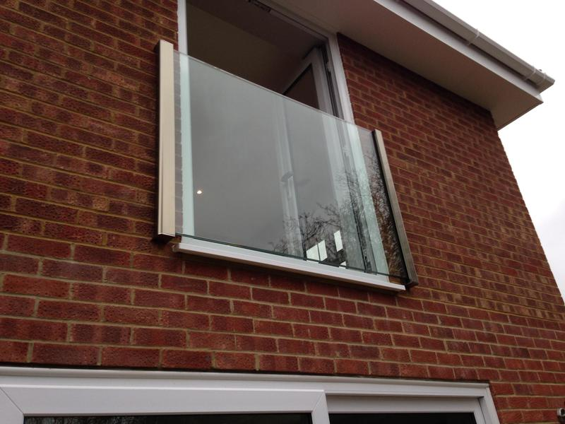 Image 37 - new frameless Juliette balcony supplied and fitted