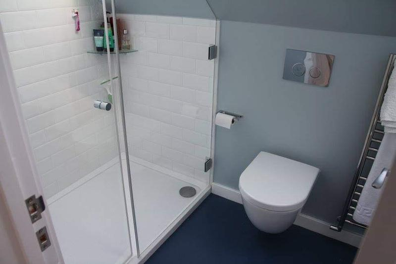 Image 11 - Compact and cute bathroom installation into a loft conversion in St.Albans.