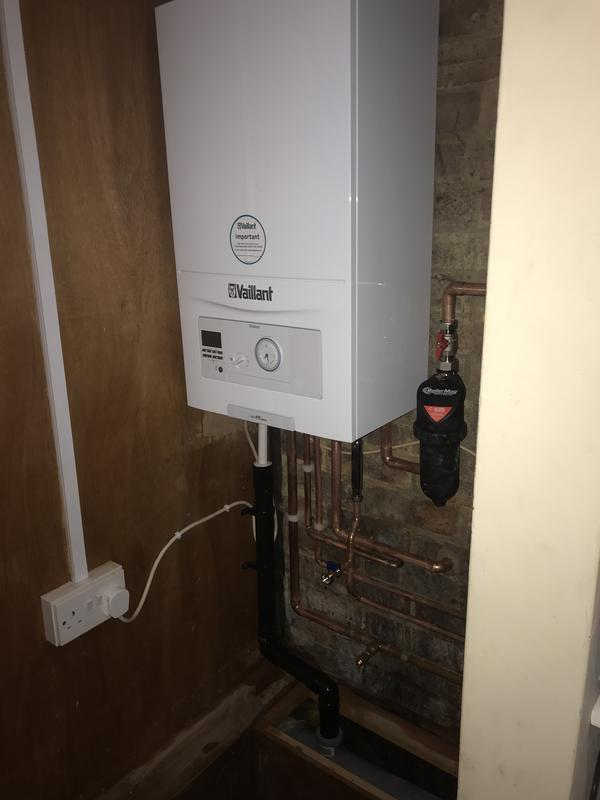 Image 8 - Here we had a combi swap for a customer in Stevenage who benefited from us being on the Vaillant Advance scheme, allowing him to get a free 7 year warranty with his new boiler!