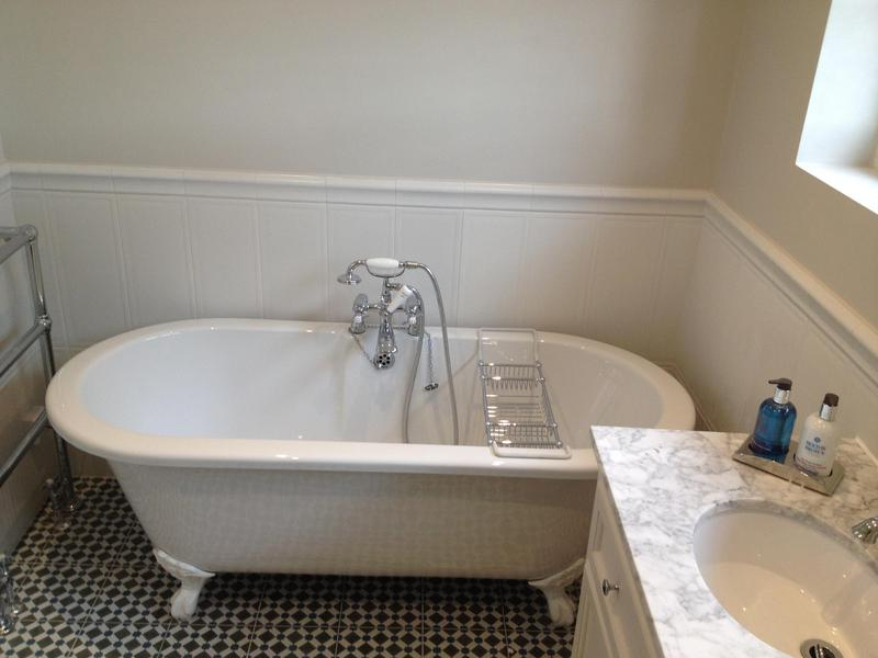 Image 80 - This bathroom renovation featured on Sarah Beaney How to sell your home. Bathroom renovation Gidea Park.