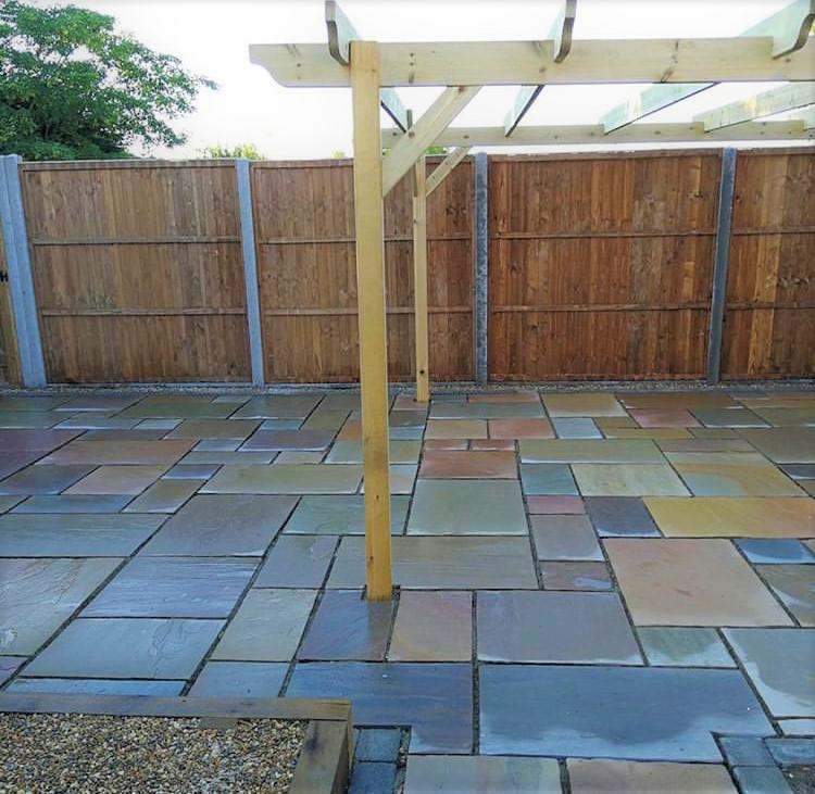 Image 5 - Marshalls Indian Sandstone in Buff Multi