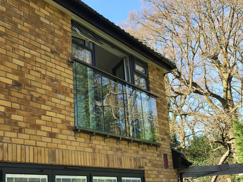 Image 41 - new glass balcony complete