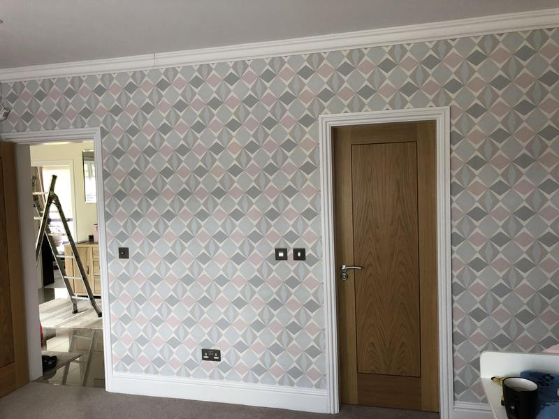 Image 8 - Wall papering