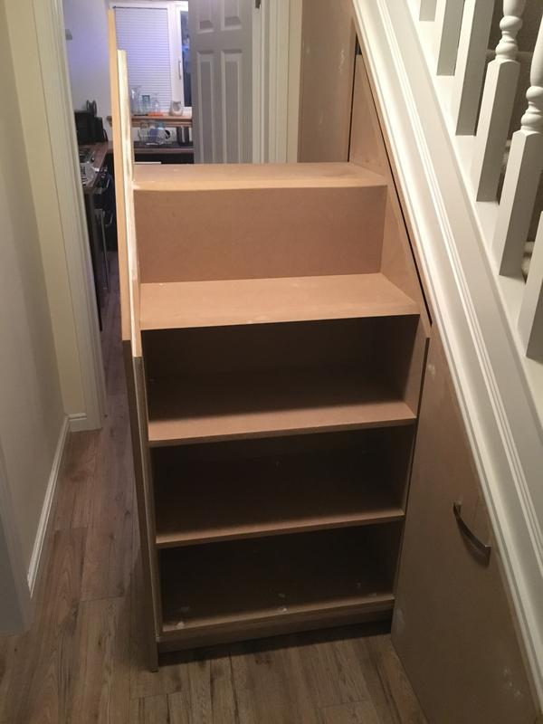 Image 8 - Understairs Storage, Mid Section, Shoe Shelves Front and Back
