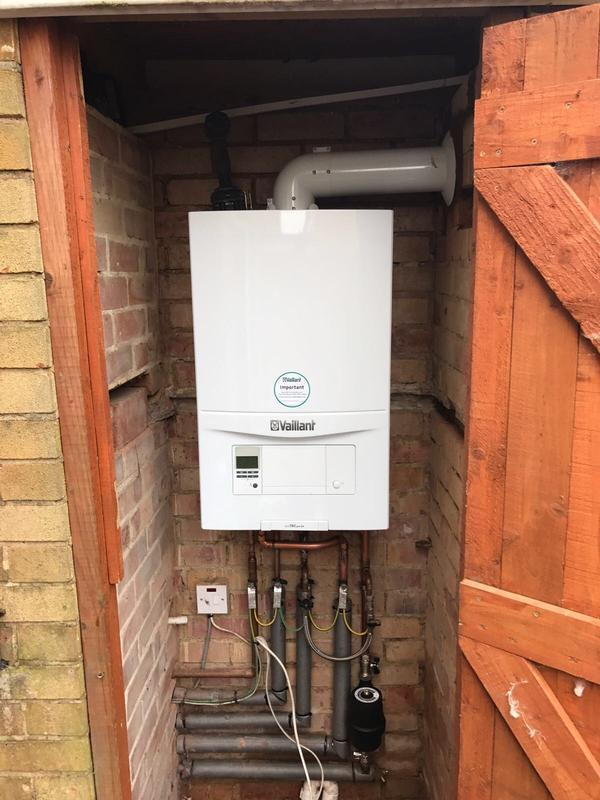 Image 19 - Vaillant combination swap carried out with 7 year warranty