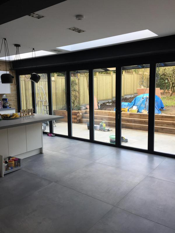 Image 74 - kitchen area/ bi fold doors