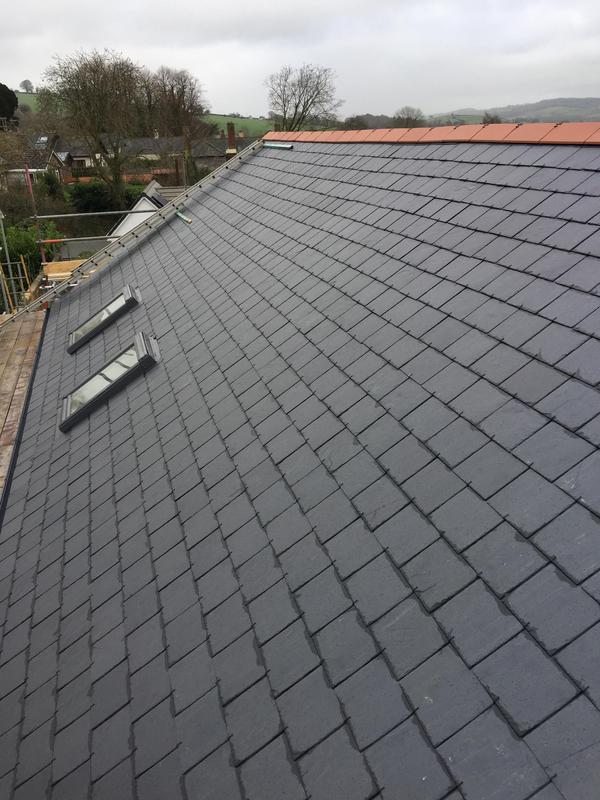 Image 39 - Spanish Slate Roof. New