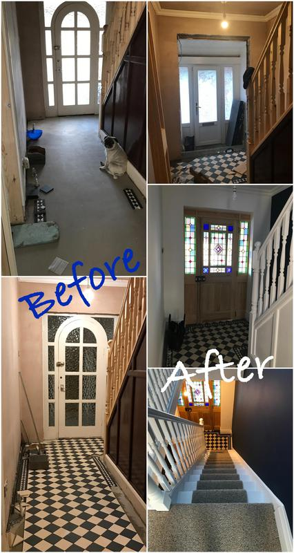 Image 27 - Hallway renovation