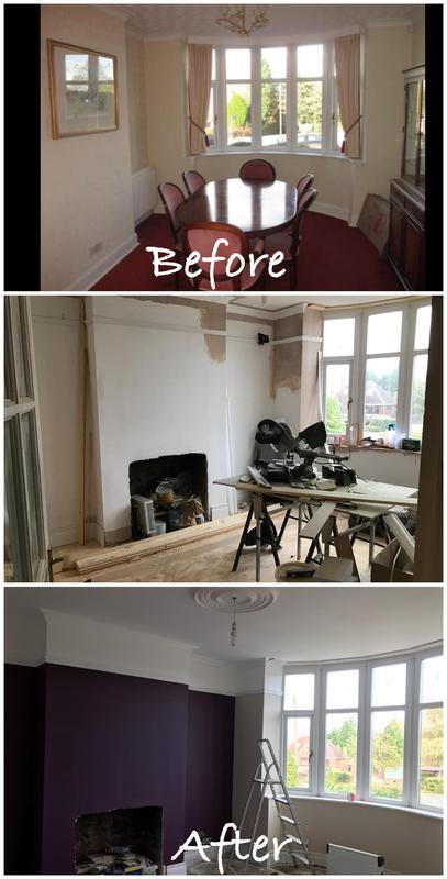 Image 28 - Complete dining room renovation
