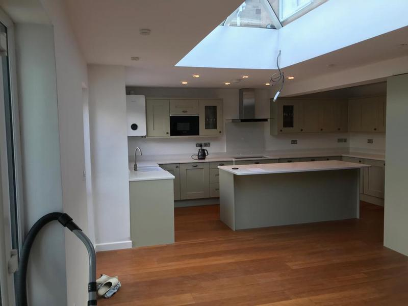 Image 1 - Kitchen extension and remodel after