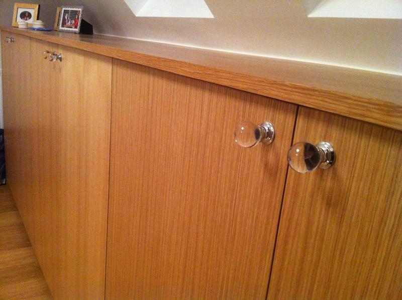 Image 47 - Custom made cabinet constructed from veneered oak