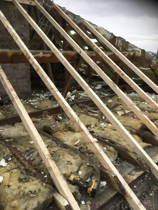 Image 24 - New timber joists