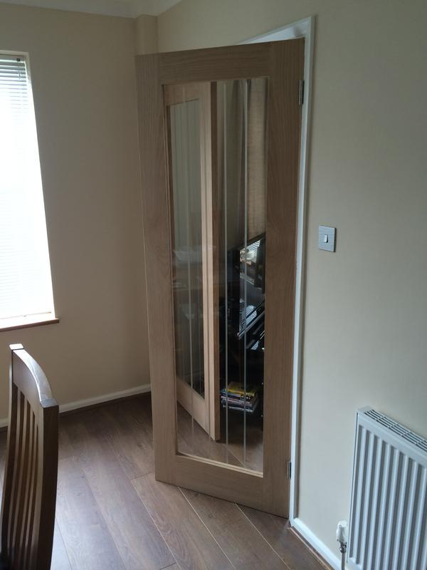 Image 27 - Solid Oak Glazed Double Doors