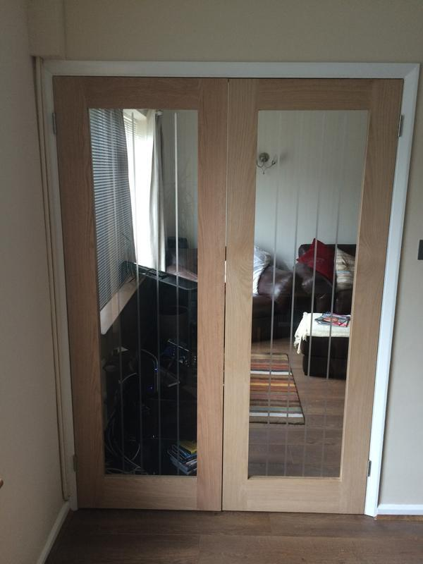 Image 31 - Solid Oak Glazed Double Doors