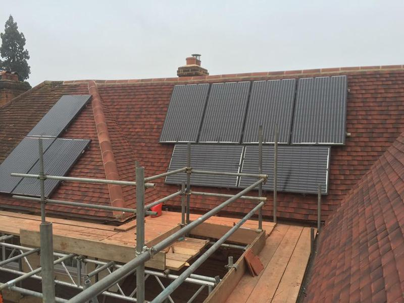 Image 19 - HERITAGE PLAIN TILE ROOF REPLACEMENT / RENEWAL INCLUDING SOLAR PANELS