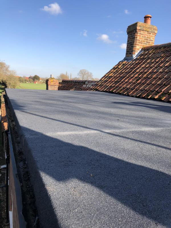 Image 8 - New Flat roof for previous customer at westborough