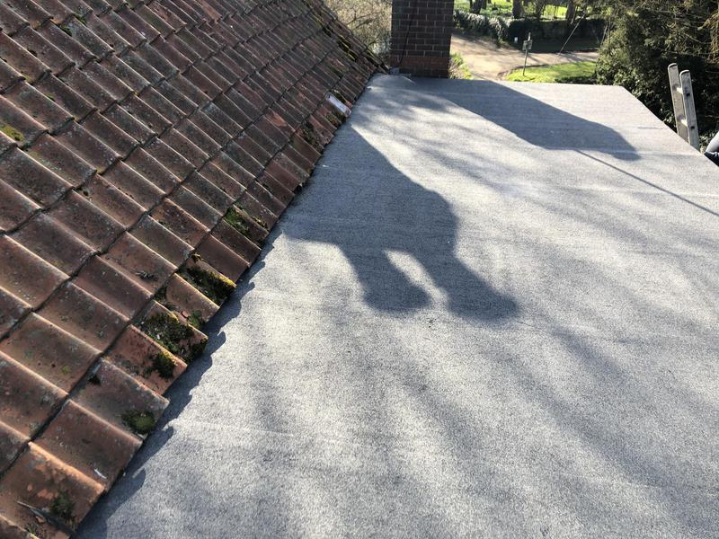 Image 23 - New Flat Roof for a previous customer at Werstborough